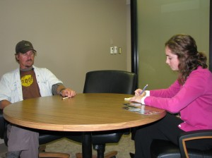 Dan Cook interview with Siouxland Chamber Social Media Intern Sarah
