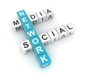 Social Media Network Graphic